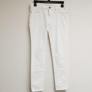DL1961 White 4 Way Stretch Amanda Skinny Jeans 26